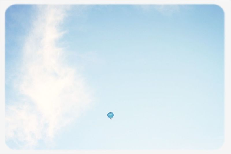 Vanilla twilight. : ) Hot-air Balloon Sky Vanilla Twilight