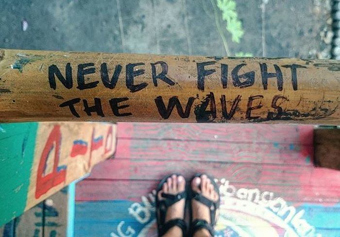 Thecirclehostel Lostinph Zambales Footscapes Quotes Feel The Journey