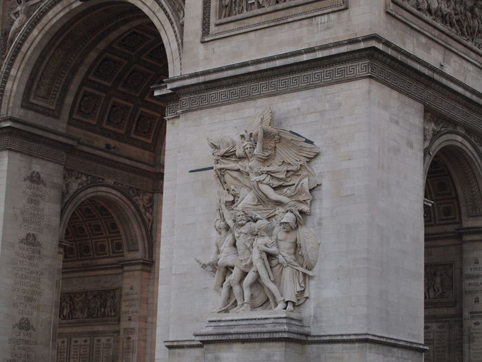 Arc de Triomphe. Paris, France Arch History Architecture Built Structure Arc De Triomphe Arc De Triomphe, Paris Arc De Triomphe De L'Étoile Paris Paris, France  Art And Craft Building Exterior Craft Travel
