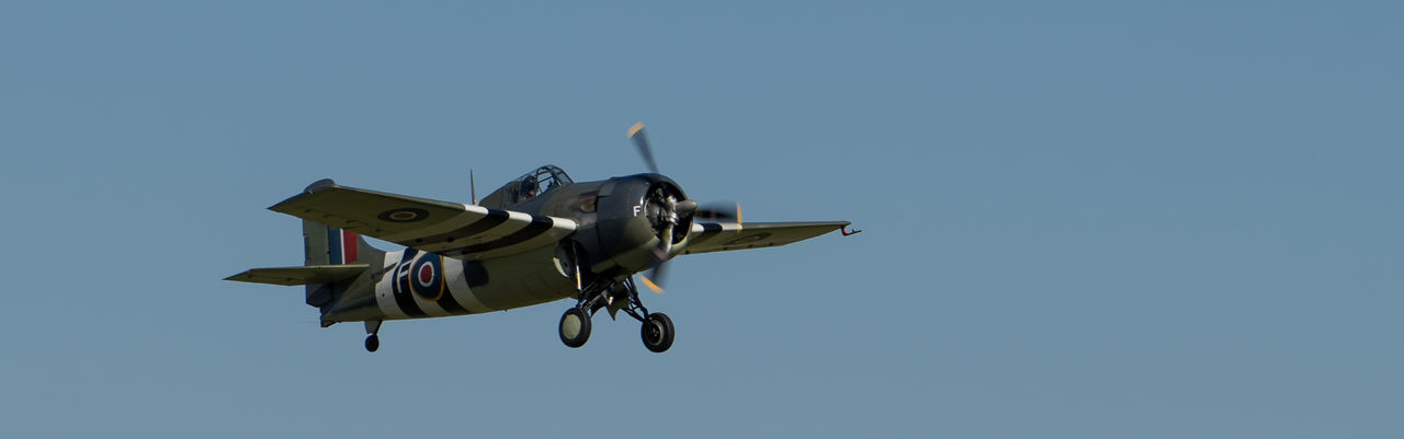 Wildcat Take-Off Duxford Air Show Duxford Imperial War Museum Plane Raw SONY A7ii Aircraft Wing French Manfrottobefree Spotter Warbird Ww2 Zeiss