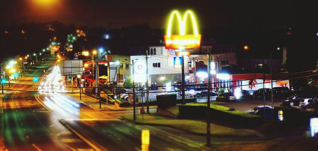 Night Photography Tiltshift Miniture Light Trails A6000