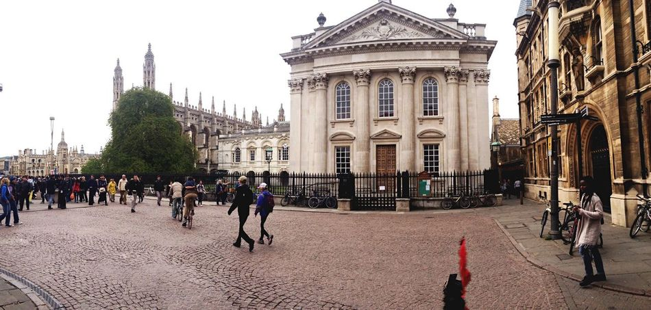 Hanging Out in Cambridge's Streets