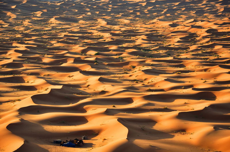 Close-up of sand at beach