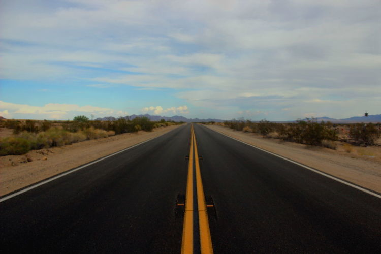 Feel The Journey Arizona Desert Hot Road Road Marking Road Trip Somewhere In Nowhere Summer Sun Tour Travel Traveling United States Vacation Streetphotography
