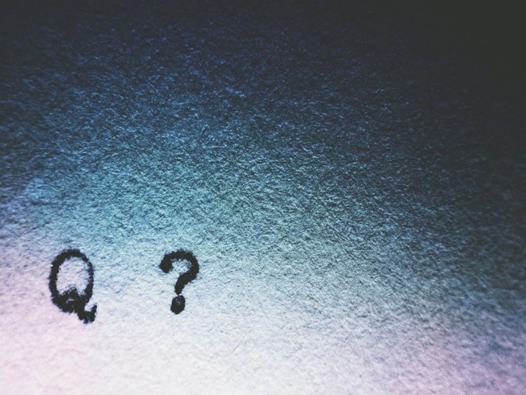 Q Q is a question that leads to a quandary Question Question Mark Letter Questions Quandry Copy Space Q Quandry EyeEm X Audi - Letter Q