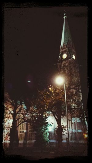 One Church in my hometown is a bit gothic. Gothic Church Kotkan Kirkko Church Of Kotka