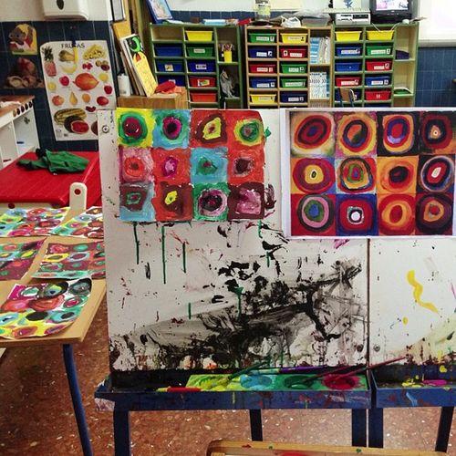 Arte en Ed. Infantil. Con 4 años. #masartisticas #arte #edinfantil | #LOMCE ? = #wertgüenza Arte Wertgüenza Masartisticas Edinfantil Lomce