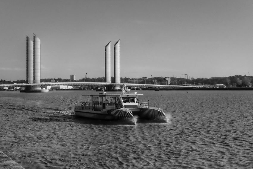 Speedy boat City Water Architecture Built Structure Transportation Clear Sky Nautical Vessel Outdoors Day Waterfront Sea Building Exterior Sky No People Nature Cityscape Bridge Eyeemphotography Picooftheday EyeEm Best Shots EyeEmBestPics Scenic View Picoftheday Photooftheday
