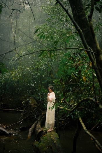 Alone In The Woods Alone In Nature Isolated Editorial  Fashion Marcfashionvn Nature