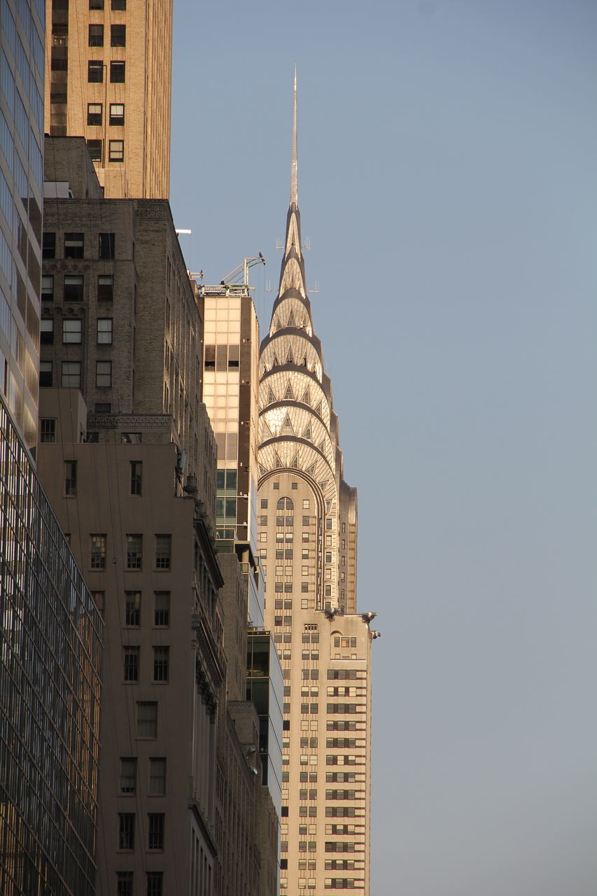 View Of Buildings Against Clear Sky