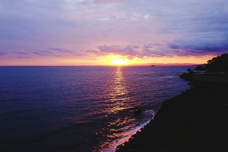 Sunrise in Beppu Sunrise EyeEm Best Shots - Sunsets + Sunrise Ocean View