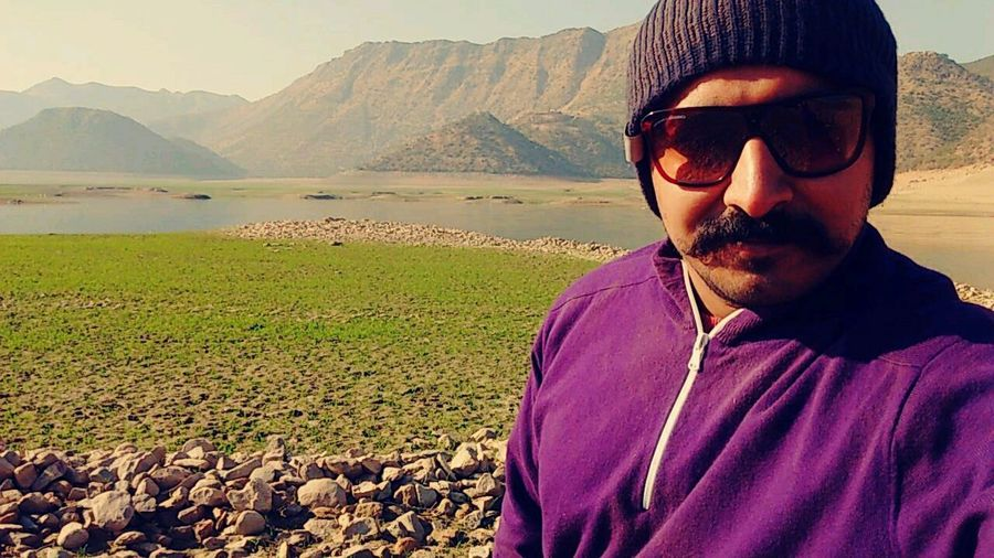 Vication Tour Love PakistaN Selfies Fog Sand Village Life Snapchat Sunglasses One Man Only One Person Only Men Adult Adults Only Landscape Nature Mountain Water Sky Day Outdoors