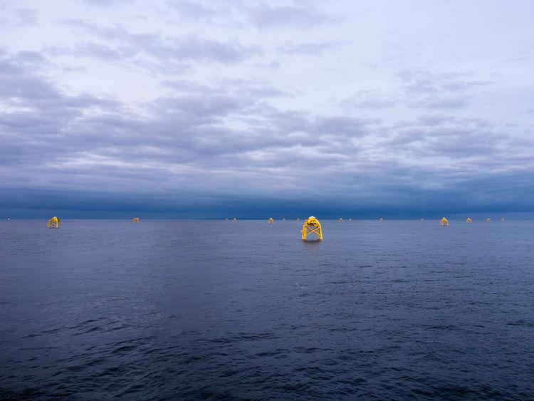 Blue Sea Offshore Offshore Wind Offshore Windpark Sea Windfarm Windfarminsea