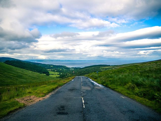 Road Arran  Summer Live For The Story Sommergefühle Lost In The Landscape