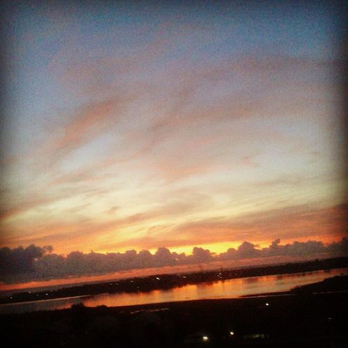 Good Morning view from my bedroom ... Balcony Lovemyhome EarlyMornings Backwaters ECR OMR Nammachennai Blessed  Naturelover Instapic Instanature