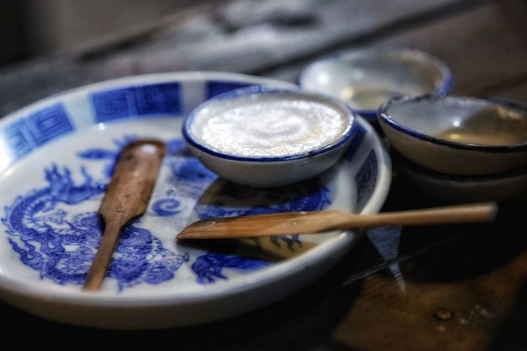 Thaifoods StreetFoods Close-up Plate Pancake Rice Prepared Food Pie Dish