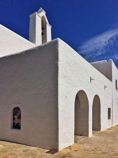 Ibiza Eivissa Religious Architecture Popular Art Mediterranean Village Rural Life Church Traditional House