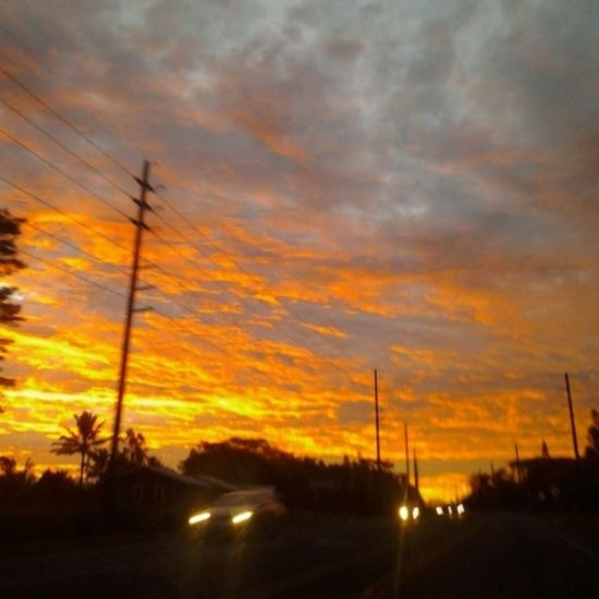 Aloha kakahiaka. Luckywelivehawaii Fire Sky Clouds Bigislandlove Beautiful My View Driving Surfsesh All_Me Loner Solo Dabest Pohoiki My_home Away From  Home Shoots Shakaloha Peace