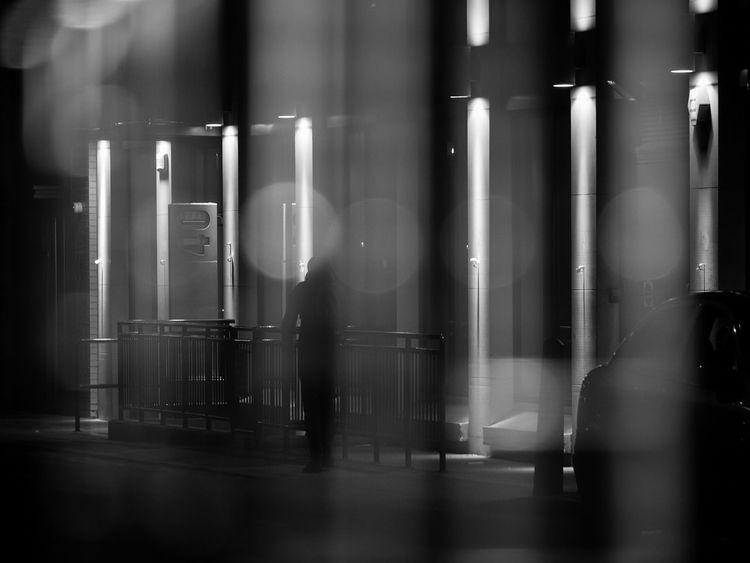 Columns of light - London, Feb 2018 EyeEmReady EyeEm Best Shots - The Streets Indoors  No People Night Water