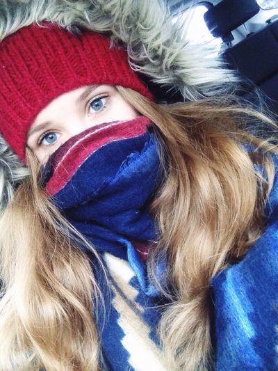 Snowing Winter Polishgirl Selfie ✌ Blue Blue Eyes Eyes