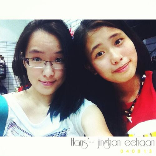 ?? OU Oneutama Hans Hangout friends friendship sunday 040813 noon shopping braidhair studioR malaysia malaysian asia asian girl smile fun crazy retarded retards