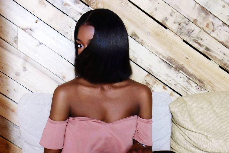 Hair Hairstyle Hair Extensions Weaves Hairdo Straight Hair Hair Photography Modelling Editorial  Compaign High Quality Dark Skin