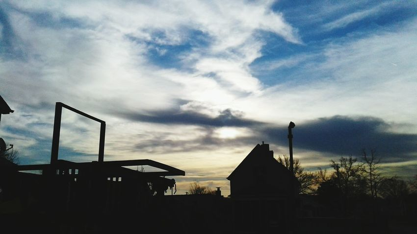 Sky Architecture Cloud - Sky No People Built Structure Sunset Building Exterior Outdoors Day Silhouette