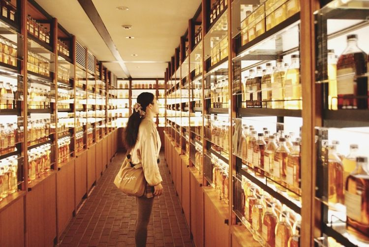 喝! Kyoto Japan Light Shop Whisky Yamazaki Factory Women Store Choice