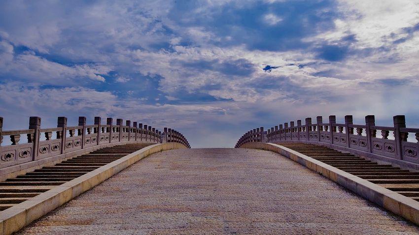 上海松江广富林遗址 Sky Nature In A Row Architecture No People Day