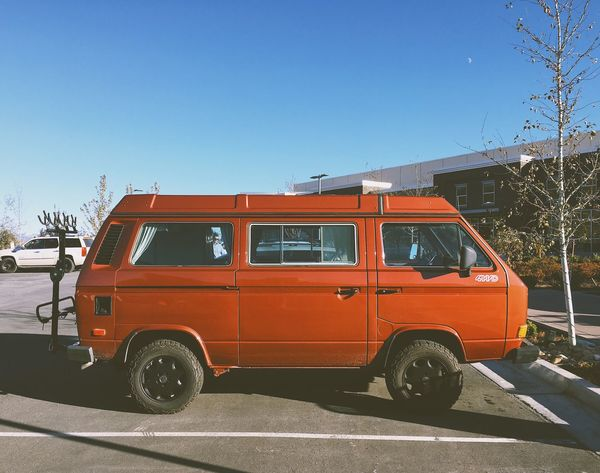 a superb example of this particular species. Vanlife 4wd VW Bus