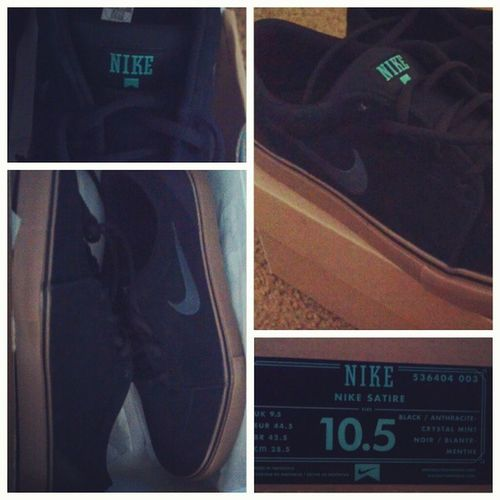 So mint. #yaynewshoes #shoes #Nike #janoskis #jkiwish #satire #crystalmint #mint #brown #black #noir #Sunday #instadaily #sweetness #sickaf Jkiwish Shoes Noir Sunday Nike Black Brown Mint Sweetness Instadaily Sickaf Satire Janoskis Yaynewshoes Crystalmint