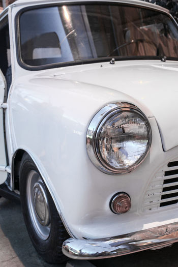 Car Close-up Day Headlight Land Vehicle Mode Of Transport No People Old-fashioned Outdoors Retro Styled Transportation