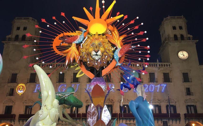 Bonfires Of San Juan Alicante Fiestas De Hogueras Alicante Bonfire Town Hall Square Monumento Plaza Del Ayuntamiento Under The Same Sun Bajo El Mismo Sol Photography And Poetry