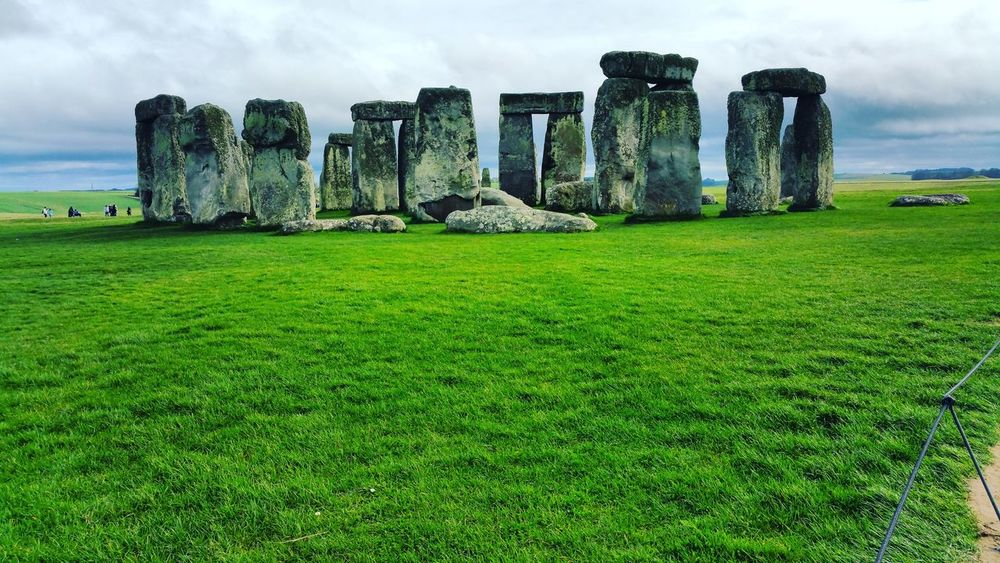 Stonehenge, found it almost imposible to get a shot without people being in the way. I feel this picture would look stunning at night with minimum lighting. Hd Photography Stonehenge And Sky Grassland Landscape Stonehenge Memorial History Historic