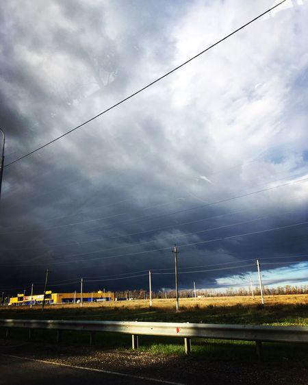 Cloud - Sky Environment Turbine Wind Turbine Cable First Eyeem Photo Sky Nature Day