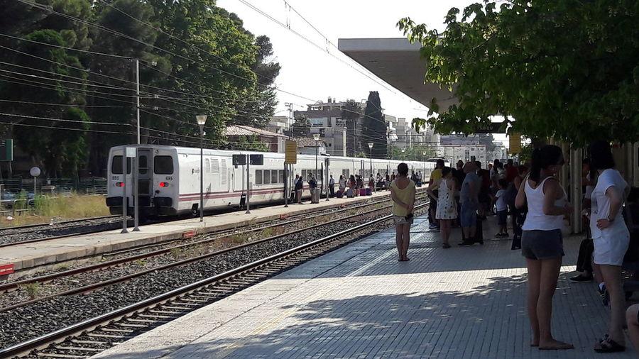 Estación/Station Salou Salou Renfe Trenes Railway Railwaystation