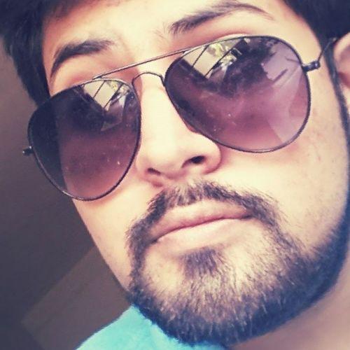 Sunglasses work wonders. :-) Selfie Glares