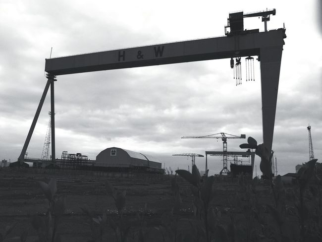 the crains Belfast Harland&Wolff Harland And Wolff Outdoors Industrial Belfast Docks #urbanana: The Urban Playground