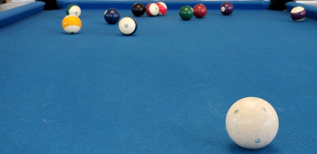 pool EyeEm Selects Ball Sport Blue No People Pool Ball Indoors  Pool Table Pool - Cue Sport Close-up Day