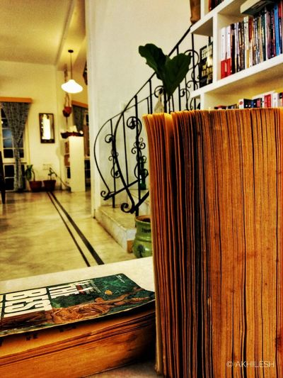 Tranquil. Coffee Books Peace Shotonphone Mia1photography India Indiapictures Hyderabad Architecture Built Structure