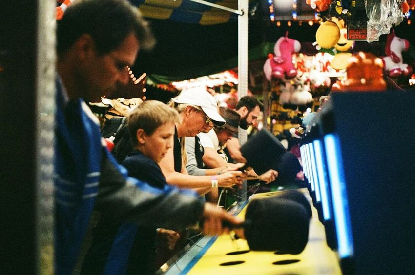 Enjoy The New Normal Fairway State Fair Toronto Torontophotography CNE Cne2016 Play Pentax K1000 Film Film Photography Whack A Mole Memories Summer First Eyeem Photo