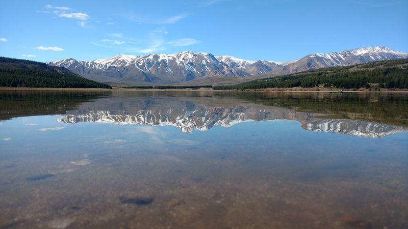 Laguna La Z Esquel, Chubut, Argentina Lago Agua Water Montanas Mountains Espejo Espejo De Agua Patagonia Landscape Raw Photography Raw Image Sin Editar