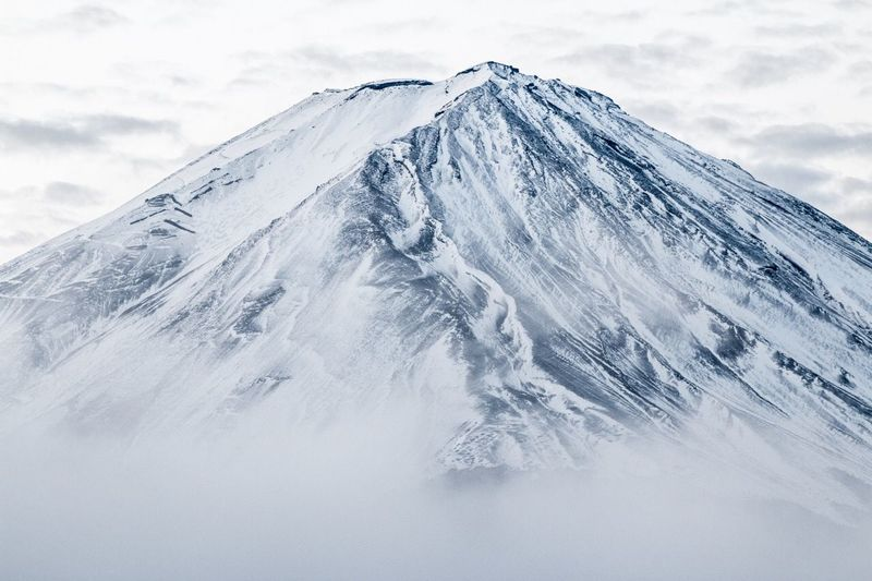 Edge Of The World Mtfuji Japan