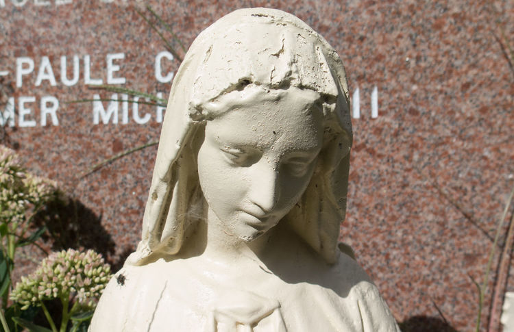 Human Representation Statue Art And Craft History Sculpture Memorial Arts Culture And Entertainment Outdoors Day Close-up Architecture Virgin Mary Religion Beautiful Sad Sadness Brutalism Brutal Art Still Life Inanimate Textured