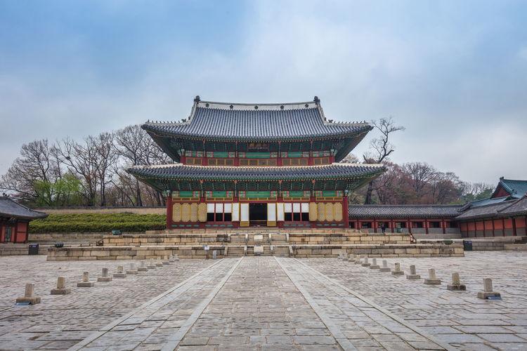 Seoul, Korea Gyeongbokgung Palace South Korea Changdeokgung Changdeokgung Palace Palace Seoul Korea