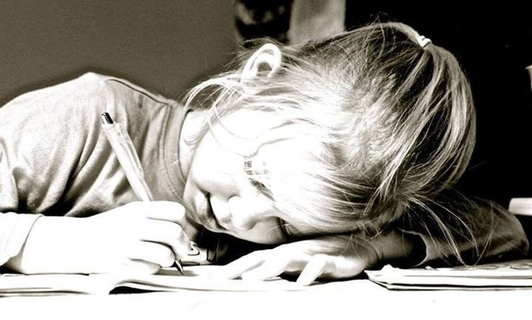 Homework Writing Children Sweden
