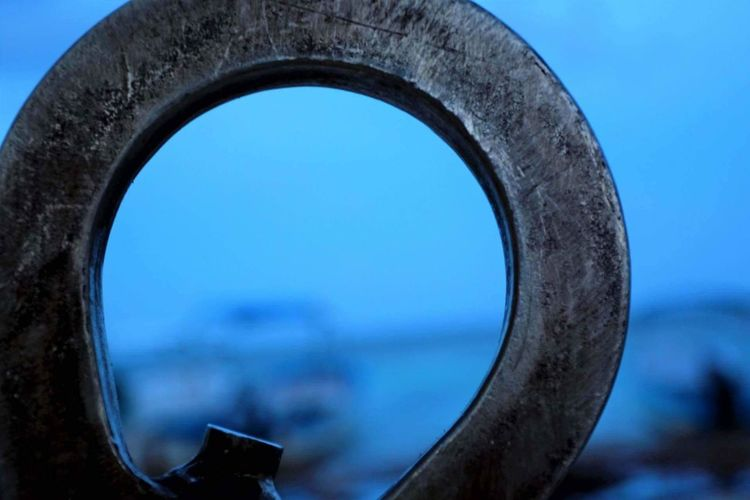 Circle Blue Focus On Foreground No People Close-up Sky Metal Industry Day Outdoors Water Astronomy The Week On EyeEm