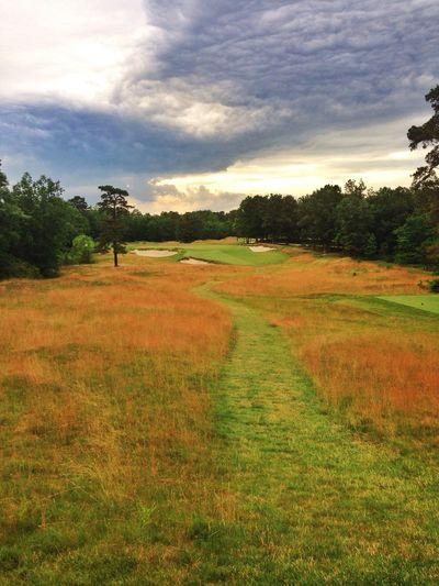 Hidden Creek Golf Club 4th hole First Eyeem Photo Golfing Golf Landscape