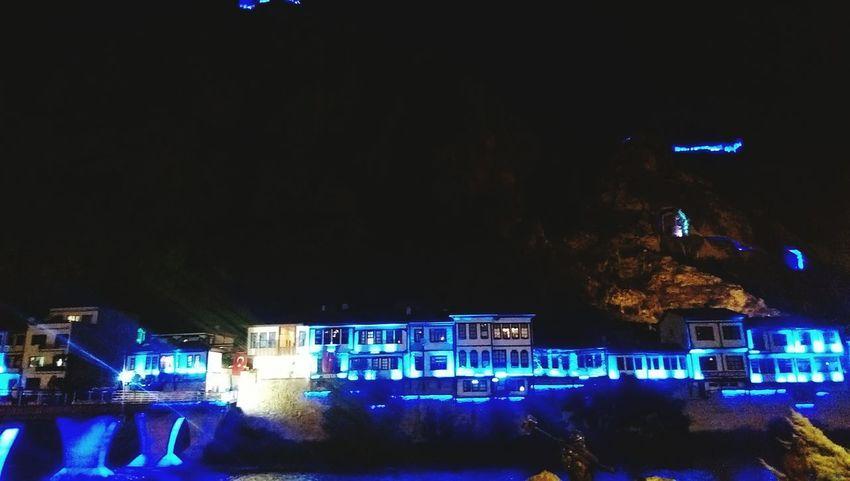 Night Illuminated Nightlife City Architecture Cityscape Relax Cuzar Hello World Great Atmosphere Blacksea Amesia Amasya/Turkey Amasyaevleri Yeşilırmak Turkey