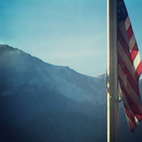 Pikes Peak Pikespeak Colorado Springs Coloradosprings Colorado Colorado Mountians Oldglory Patriotism Patriotic Mountains Mountain Frontrange First Eyeem Photo Nature Coloradogram Outdoors Abstract Abstractart Abstract Art Glory Purple Mountains Purple Mountain Purple Mountains Majesties